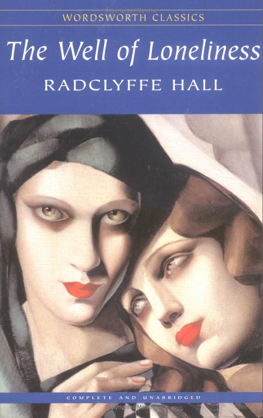The Well of Loneliness Radclyffe Hall lesbian novels